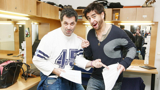 Sagvan a Martin se potkávali jen na hokeji.
