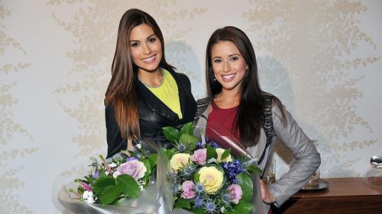 Gabriela a Nia vypadaly po příletu senzačně.
