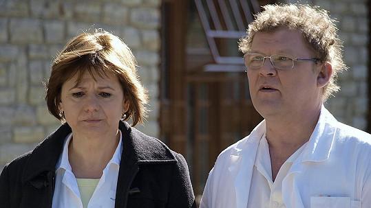 Tomáš Juřička a Ivana Andrlová se opět potkali před kamerou.