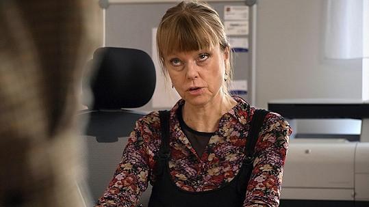 Lenka Kořínková si zahrála v novém seriálu.