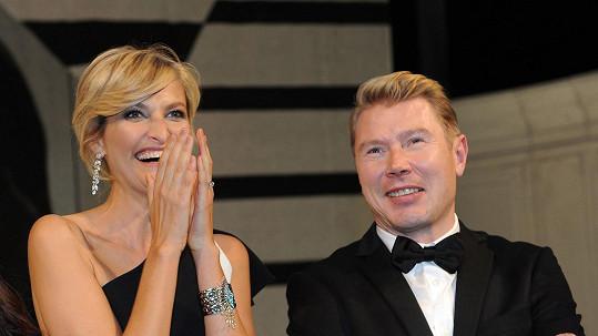 Maxová a Häkkinen se skvěle bavili.