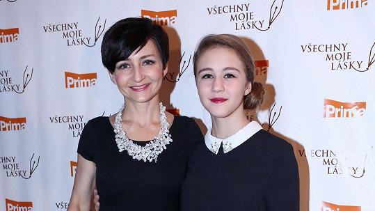 Magda Zimová s dcerou Agátou