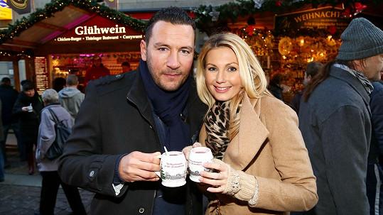 Sandra Parmová a Michal Janotka v Drážďanech u svařáku