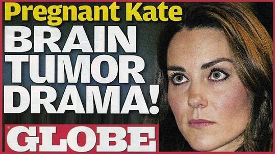 Kate na obálce magazínu Globe.
