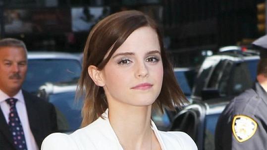 Okouzlující Emma Watson.