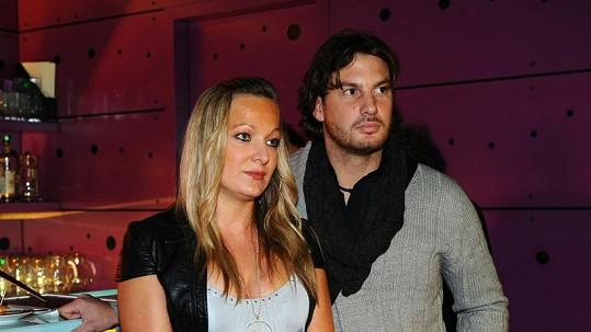 Vašek Jelínek s manželkou Marcelou