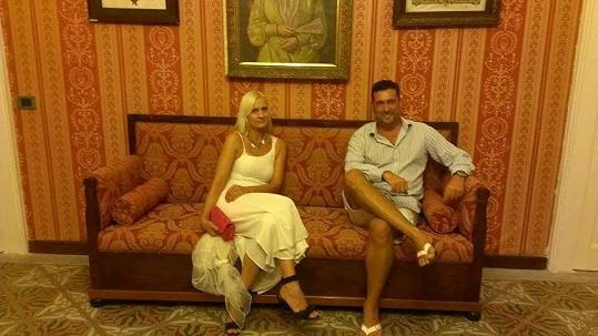 Vlaďka Šuleková už není Martucciho kamarádka. Kvůli Rychtářovi.