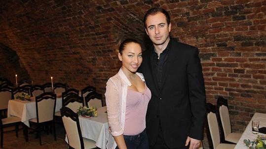 Miriam Bittóvá s přítelem Mirkem Hrabětem