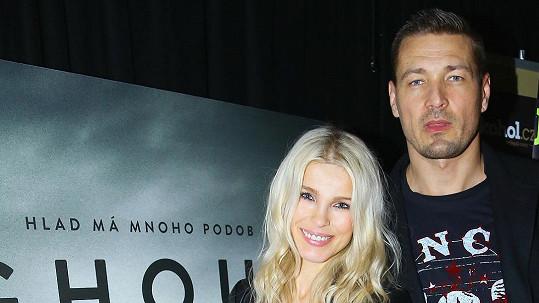 Romana Jákl Vítová s manželem Petrem