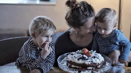 Andrea Kerestešová Růžičková oslavila 1. narozeniny mladšího syna.