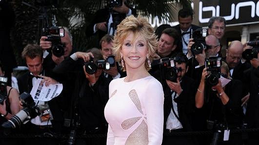 Vždy elegantní a nestárnoucí Jane Fonda.