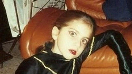 Lady Gaga ve svých devíti letech.