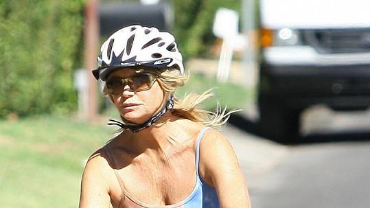 Goldie Hawn vypadá na svůj věk báječně.