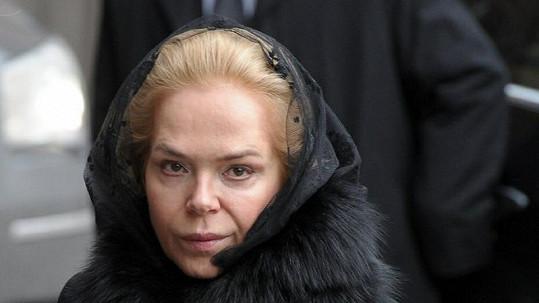 Dagmar Havlová smutní pro strýčka.