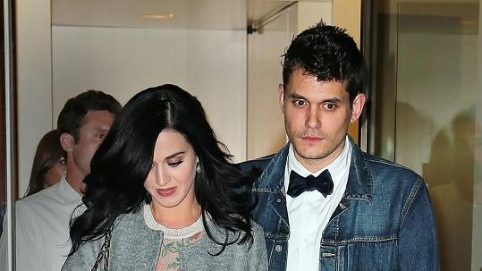 Katy Perry a John Mayer na archivním snímku