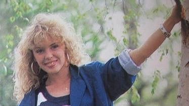 Kylie Minogue na archivním snímku.