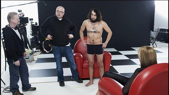 Takhle vypadá známý herec Pavel Liška skoro nahý.