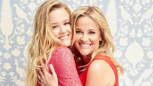 Reese a Ava spolu nafotily kampaň.