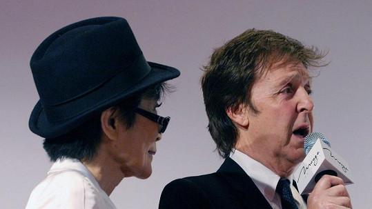 Paul McCartney už s Yoko Ono není na ostří nože.