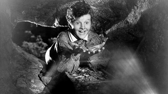 Tommy Kelly ve filmu Dobrodružství Toma Sawyera (1938)