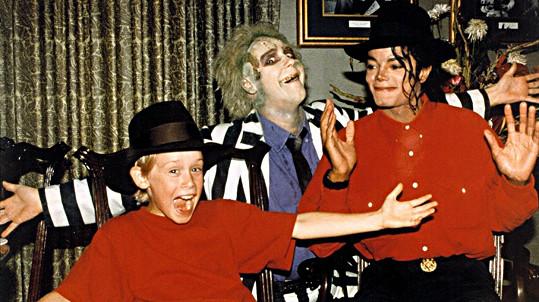 Michael Jackson a Macaulay Culkin