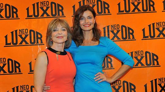 Pavlína Pořízková s maminkou Annou.