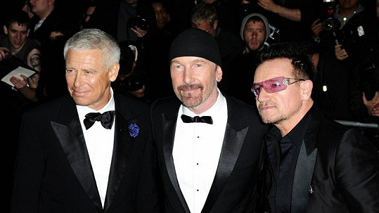 Kapela roku U2.