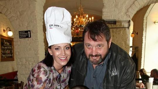 Gábina Partyšová s manželem Pepou Koktou poprvé od skandálu společně na veřejnosti.