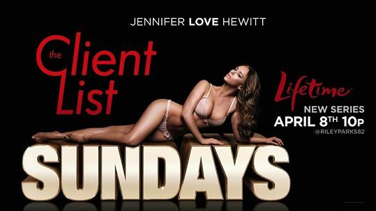 Polonahá Jennifer Love Hewitt vypadá na promo fotkách k seriálu úchvatně.
