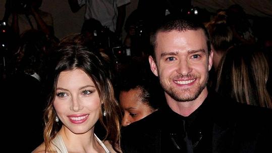 Jessica Biel v soukromém životě bude používat příjmení Timberlake po manželovi.