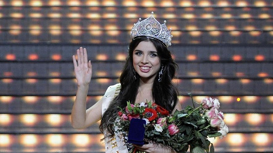 Elmira Abdrazakova se stala novou ruskou Miss.
