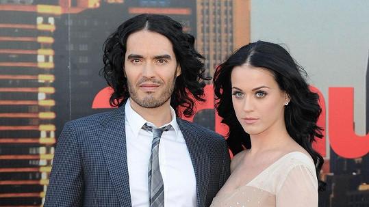 Katy Perry a Russell Brand ještě jako manželé