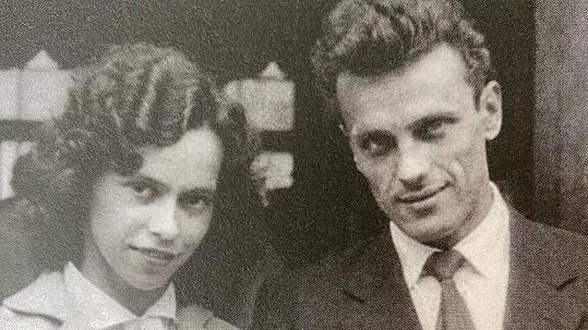 Svatební foka rodičů Lucie Bílé