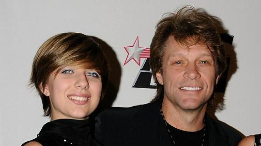 Z dcery Stephanie Rose zpěvák Jon Bon Jovi radost určitě neměl...