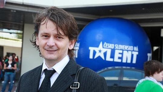 Viktor Čech na loňském castingu Talentu