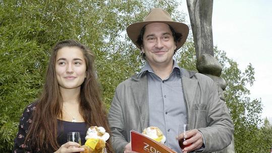 Saša Rašilov s dcerou Toničkou