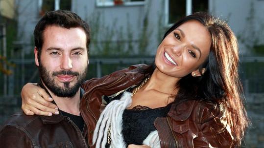 Vašek Noid Bárta a jeho přítelkyně Gábina Dvořáková poprvé oficiálně spolu