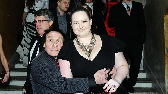 Jan Saudek s manželkou Pavlou