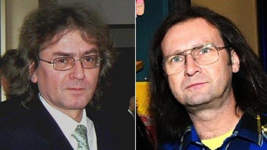 Bohumil Kulínský a Jaroslav Topercer vypadají jako dvojčata.