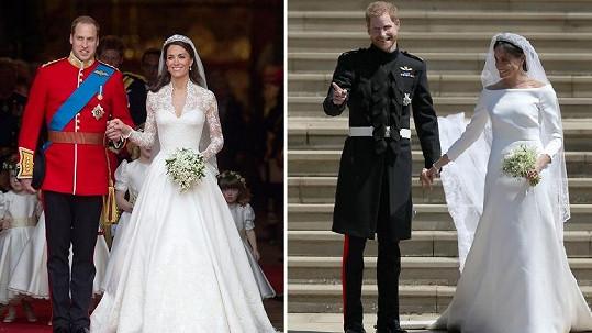 Kdo si našel hezčí nevěstu?