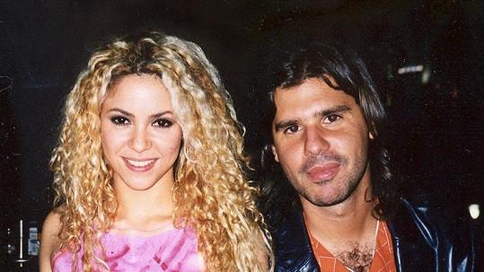 Shakira a její expřítel Antonio de la Rúa. Žili spolu téměř 11 let.
