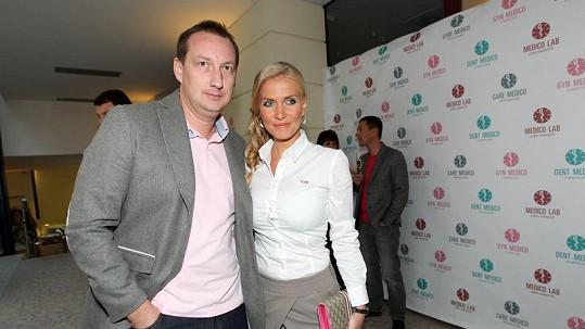 Michaela Ochotská s expřítelem Michalem Exnerem.