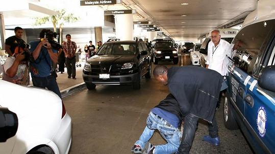 Kanye West se rozčílil a neudržel svou divokou povahu na uzdě.