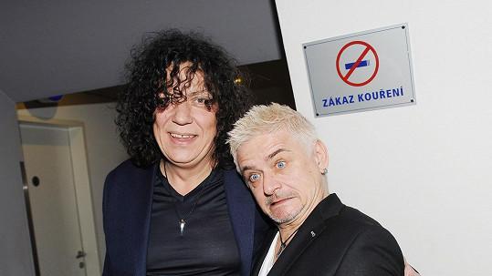 Michal Suchánek s Richardem Genzerem