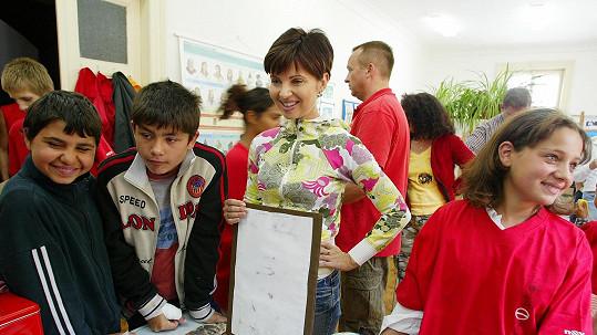 Markéta Fialová pomáhá dětem z dětských domovů.