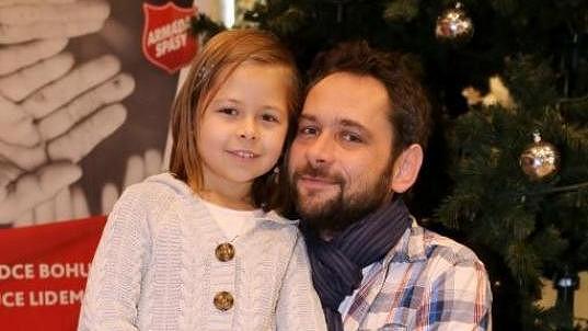 Filip Čapka se svojí malou princeznou