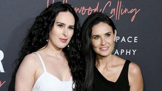 Rumer Willis s matkou Demi Moore