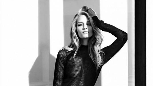 Linda Vojtová je velmi úspěšnou modelkou.