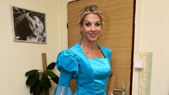 Sabina Laurinová v kostýmu z muzikálu.