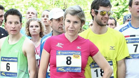 Kateřina Neumannová se dala na běh.